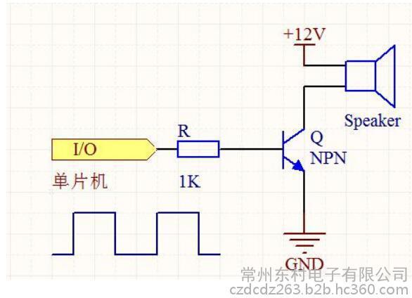 有源蜂鸣器整体电路图