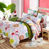 厂家批发定做学生床上用品 全棉三件套 四件套宿舍床上用品套件