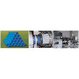 供应pe管生产机器,pe管生产机器,益丰塑机图
