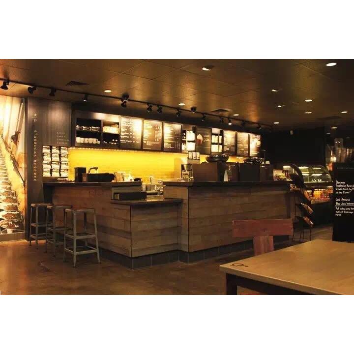 供应咖啡店吧台厂家定制 咖啡厅家具定制