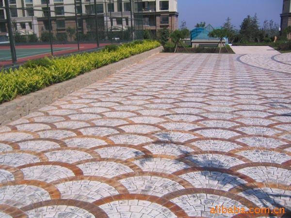 工程承包价格 石材施工队 地砖铺装队 广场铺装队伍 广场 园林 小区石