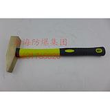 防爆除锈锤,塑胶柄去锈榔头300mm敲锈锤,检锈锤子,工业用