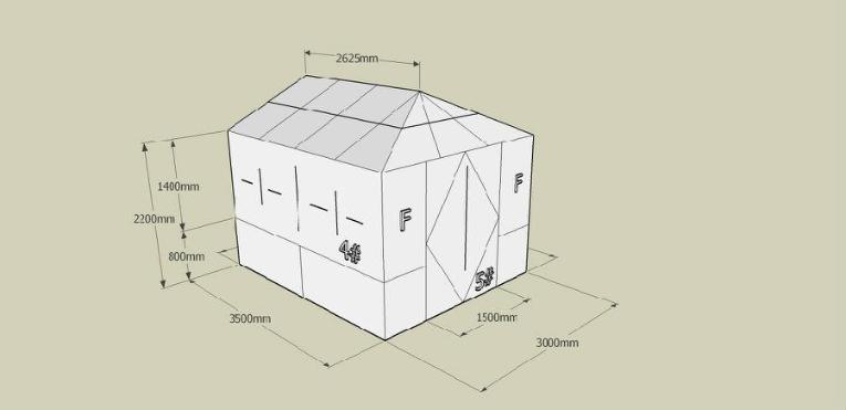 (示例图片:别墅三维设计方案) 材料成本: 根据造型要求7.5-10kg/平方米 顶面造价:18kg/平方米 方寸间门窗15年门窗行业经验,品质打造完美 您如果有任何关于门窗型材、阳光房等问题或需要,方寸间全国免费服务热线:400-8624-888,方寸间人将随时为您服务。 关注方寸间微信公众号:fcjly88,更多产品资料为您展现!