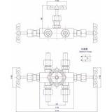 J23SA三阀组-厂家 -上海茸工阀门制造有限公司