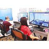 汽车驾驶员模拟训练机实体店