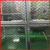 现货供应 防静电窗帘 pvc透明网格门帘优质防静电软帘0.3