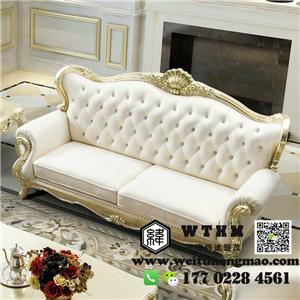 天津欧式沙发图片 定制西餐厅欧式沙发