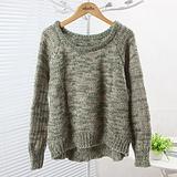 短款毛衣厂家|七分袖短款毛衣|短款棒针毛衣