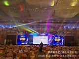 上海周年庆音响设备租赁安装舞台背景板搭建 桁架出租