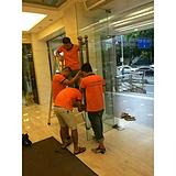 广州专业玻璃门制作维修安装