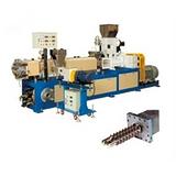 PVC木塑板生产线价格,PVC木塑板生产线,益丰塑机图