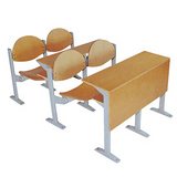 天津固定式课桌椅 带写字板课桌椅 课桌椅出售