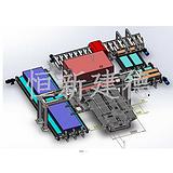 剪板机自动生产线剪板机周围自动化设备