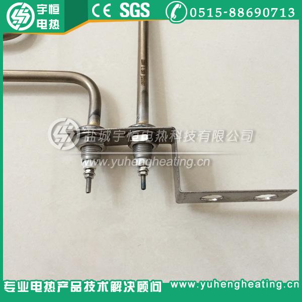 【宇恒工厂】带固定接线片异型加热管 高温加热管 桑拿房加热管