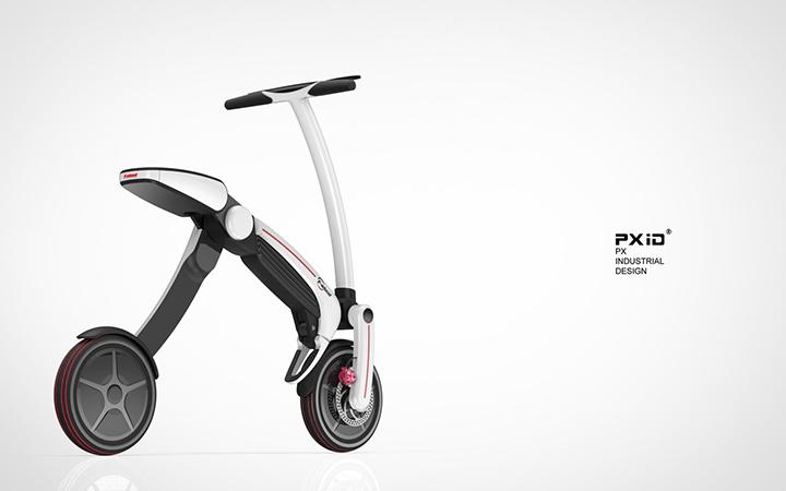 品向工业设计 电动滑板车设计 代步工具设计 平衡车设计 pxid