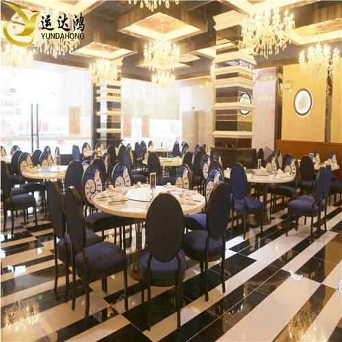 欧式酒店复古餐椅 时尚咖啡厅西餐厅靠背椅 主题餐椅款式可定制