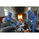 海关扣押鞋帽现场焚烧销毁中心,上海进出口服装销毁,上海服装销毁站