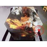 玻璃UV彩绘打印 玻璃UV喷绘 品质高 来图定制