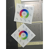 电子产品玻璃面板UV彩印 玻璃渐变色打印