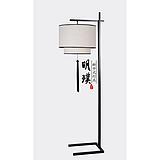 北京客厅新中式落地灯 餐厅简约中式布艺落地灯 现代灯具厂家批发
