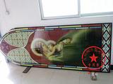 玻璃uv喷印技术 钢化玻璃电视背景墙彩绘喷图打印 高清价廉品质优