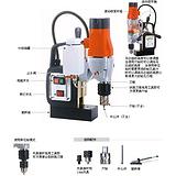 销售台湾小型高效磁力钻孔机MD350N