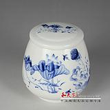 供应陶瓷茶叶罐 青花瓷茶叶罐 粉彩陶瓷茶叶罐