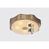 北京酒店新中式吸顶灯 客厅现代中式铁艺吸顶灯 新中式灯具定制厂家