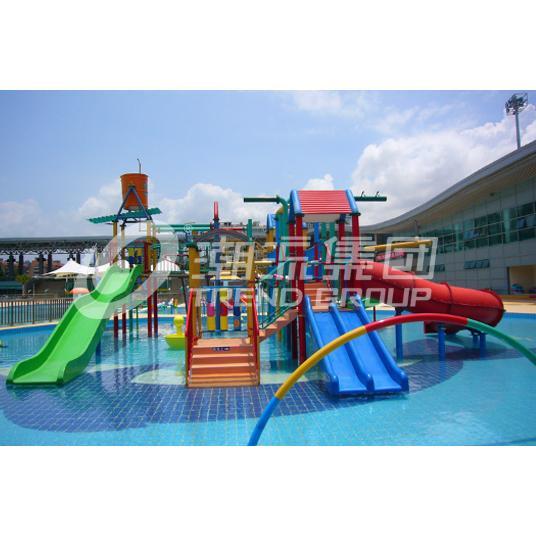 厂家供应抚州水上乐园设备---(150㎡)儿童互动水屋