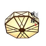阳台八边形中式吸顶灯 卧室现代中式吸顶灯 专业生产新中式灯饰厂家