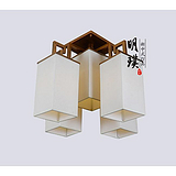 武汉书房新中式吸顶灯 方形餐厅现代中式灯具批发 供应酒店工程灯饰