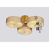 上海新中式灯饰 卧室新中式吸顶灯批发 中式铁艺吸顶灯定制厂家