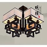 武汉样板房中式吸顶灯 酒店仿古中式吸顶灯 老人房新中式吸顶灯批发