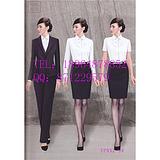 房地产工作服-售楼小姐制服-卖房销售服-女士西装裤装-收银员工服