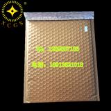 金黄色镀铝膜复合气泡袋防震防压 美观大方