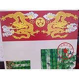 瓷砖平面喷印精美高清图案 进口UV平板喷绘机打印加工