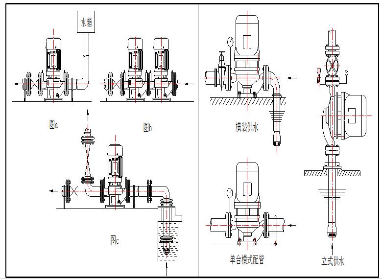 自动控制抽水泵接线图
