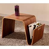 弯曲木手提电脑桌,厂家直供,曲木定制,价格实惠