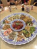 酒店海鲜陶瓷大盘子 陶瓷创意海鲜大餐盘厂