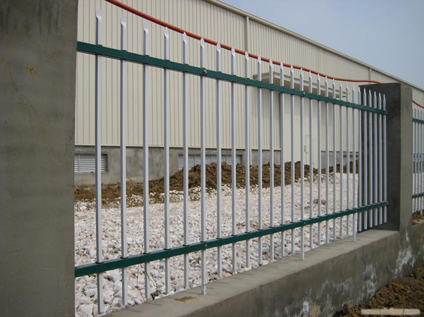 热销 青海玉树小区阳台锌钢围墙护栏 厂区公园锌钢围栏