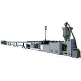 供应HDPE塑料管生产线HDPE塑料管生产线益丰塑机