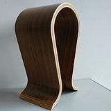 加工多功能弯曲木展示架,曲木耳机架,置物架定制