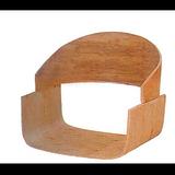 【专业10年】弯曲木休闲椅餐椅背板定制,时尚简约