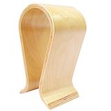 质量超群,德国设计曲木耳机展示架,异形弯板加工