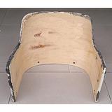 弯曲木休闲椅板定制,曲木椅子背板,质地优良