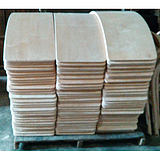 弯曲木休闲桌椅定制,曲木系列产品加工