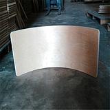 供应多层板弯曲木,加工床头柜弯板,各种异形板加工
