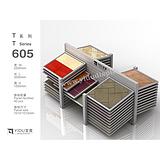 瓷砖样板展示架十层双排组合T605