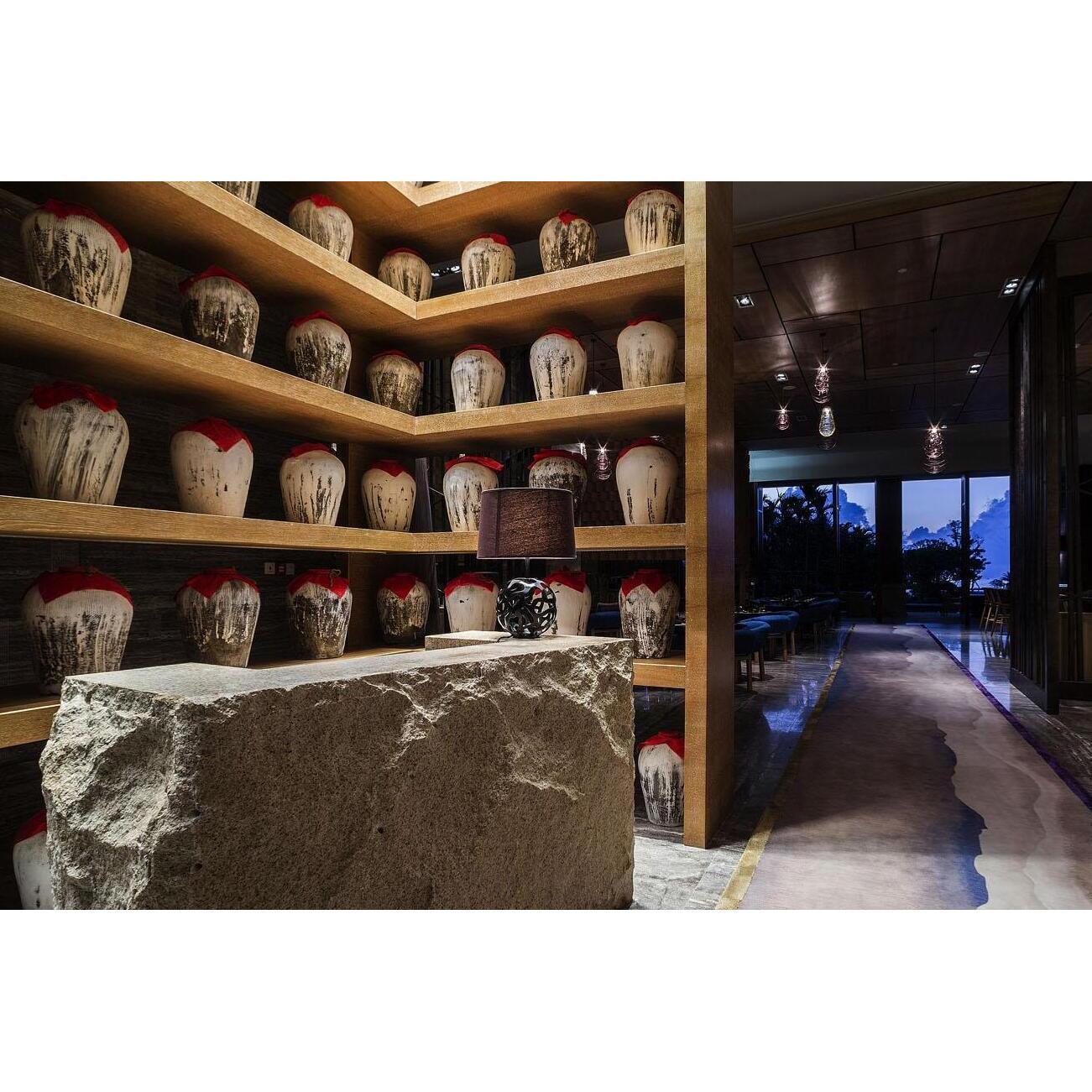 酒店陶艺设计商务酒店陶瓷艺术品设计图片