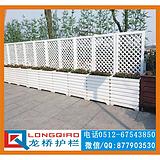 苏州别墅护栏 防木PVC发泡板护栏 防木围墙护栏 永不生锈